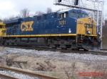 CSX ES44DC 5231