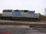 CSX GP40 6828