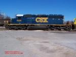 CSX SD40-2 8208
