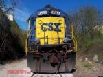 CSX SD50 8540