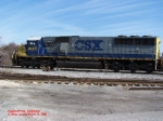 CSX SD50 8555
