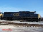 CSX SD50 8662