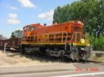 PNWR 1551 leads transfer train