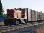 PNWR 1551 leads a transfer