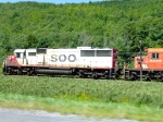 Passing SOO 6034 on I88