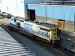 Fresh out of servicing, CSX 7719 is in need of some paint