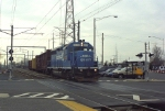Conrail SA35 entering the North Jersey Coast Line