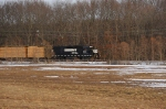 Conrail SA31 passing by the field