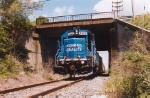 A blue GP15-1