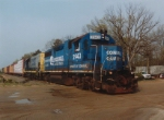 The Spirit of Conrail on the Southern Secondary