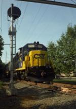 Conrail SA35 at Patterson Ave.