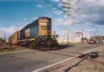 Conrail SA31 crossing Asbury Avenue