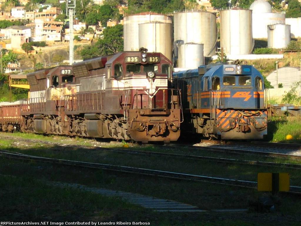 EFVM e FCA em Porto Velho