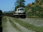 EFVM 721(BB36-7) partindo no L-021 em Itaciba rumo a Aroaba.