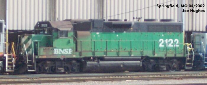 BNSF 2122