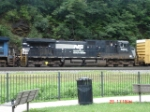 NS 9263 runs long hood forward WB on NS 11V