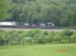 NS 2540 & NS 9246 ease into the curve EB