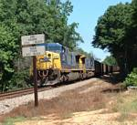 CSX coal train U210-06