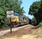 CSX coal train U210-06