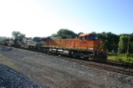 BNSF 4699 brings 10R onto the main