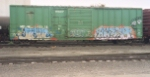 I am getting ready to inspect this boxcar so quit staring at me