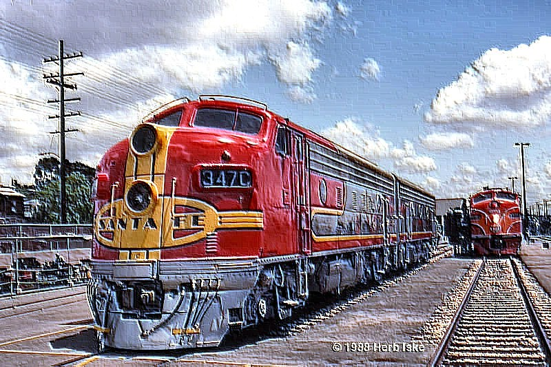 San Diego Railfair 1988 - Soft Plastic