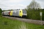 """Siemens Transportation class Eurorunner 20 with """"ALEX"""" (Allgaeu- Express)"""