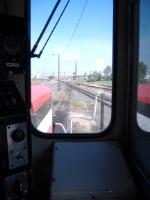 Looking out the hoggers window of the CBRW 171