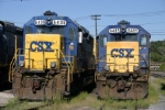 CSX 6406 and 6485