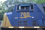 An EMD brings up the rear