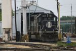 SD70 at the enginehouse