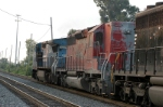 a little more clear is ex cp(canadien pacific ) now nerx b unit only trails ex conrail into andrews yard