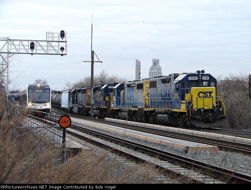 CSX 2739 & NJT 3513