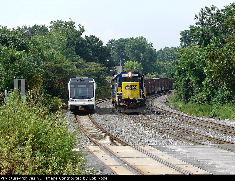NJT 3510 & CSX 1537