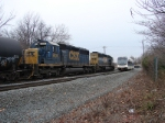 NJT 3506 and CSX 8836