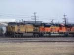 UP 6850 & BNSF 9355