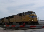 A Pair of SD70M's Enter a Crossing