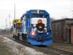 The Santa Special pulling into town