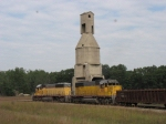 Passing the coaling tower