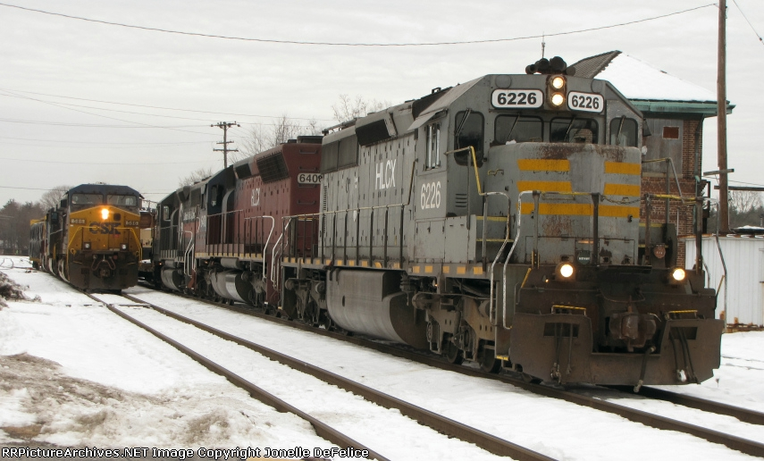 CSX POSE & Pan Am Train ED495