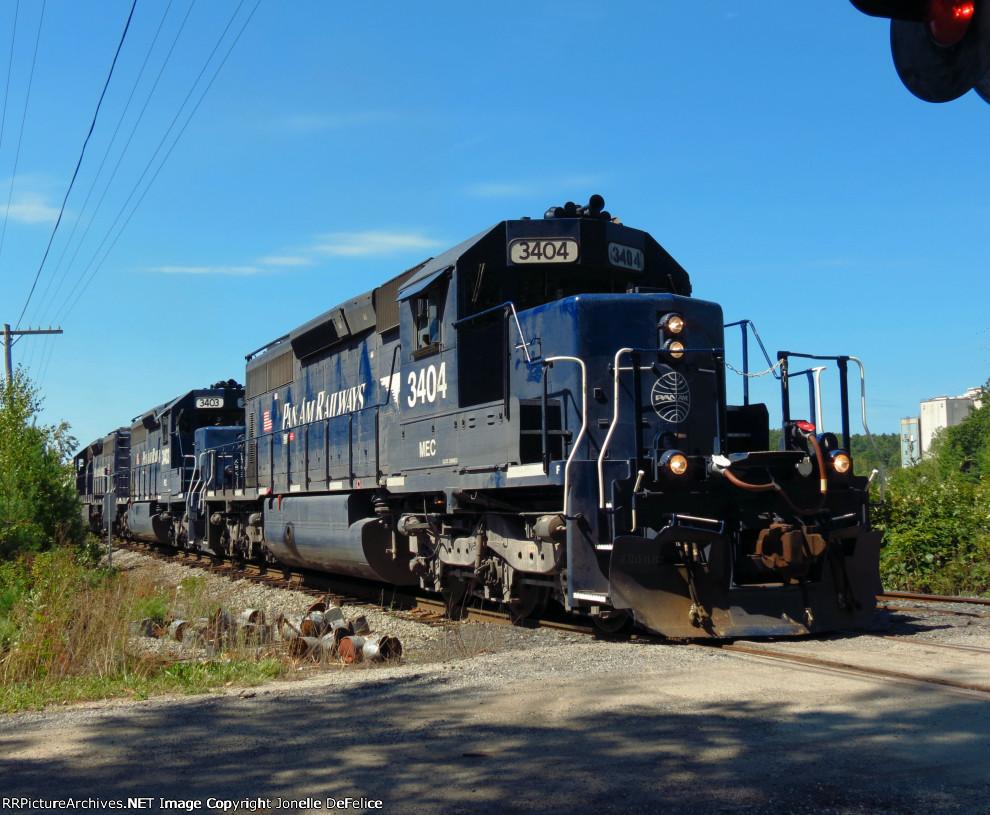 Pan Am Train BFPO