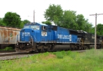 Pan Am Southern Train AYMO With Conrail Unit