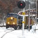 PanAm train AYSE