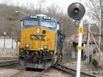 CSX Power for Train AYSE