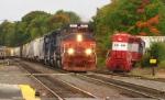Pan Am Train ED495 arrives