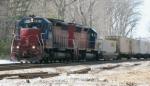 Guilford intermodel train MOAY