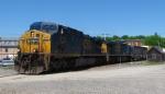 Pan Am/CSX Train WASE