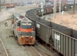 ST #77 Next To Coal Train