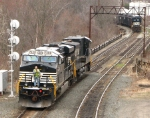 NS power on today's coal train