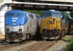 Amtrak Vermonter & CSX westbound